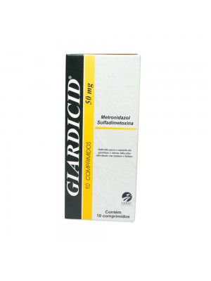 GIARDICID 50mg C/10comp.