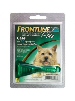 FRONTLINE PLUS 01 A 10kg. P 0,67ml.