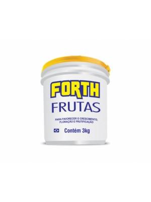 ADUBO FORTH FRUTAS 3kg.