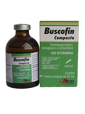 BUSCOFIN COMPOSTO INJ.50ml.