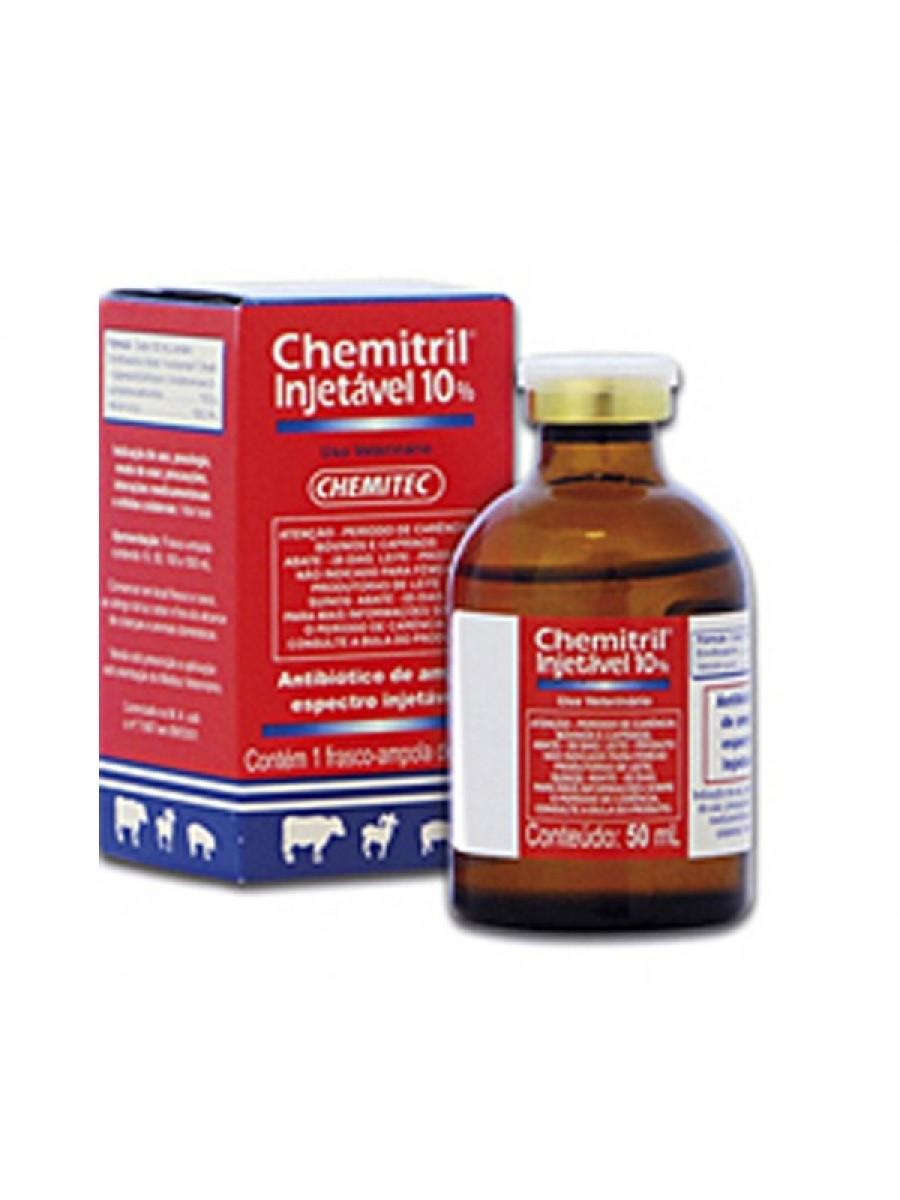 CHEMITRIL INJ.10% 50ml.