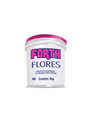 ADUBO FORTH FLORES 3kg.