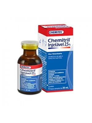 CHEMITRIL INJ 2,5% 20ml.
