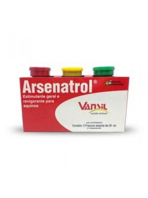 ARSENATROL 3 x 20ml.
