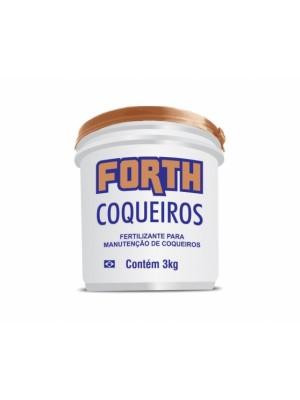 ADUBO FORTH COQUEIROS 3kg.