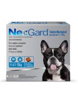 NEXGARD M 1,25gr P/CAES 4,1 a 10kg.
