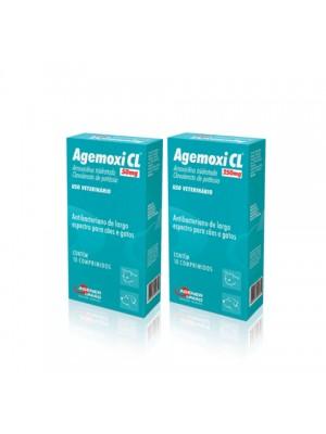 AGEMOXI CL 50mg C/10cpdo.
