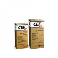CEF-50 INJ 50mg  (CEFTIOFUR) 30ml.